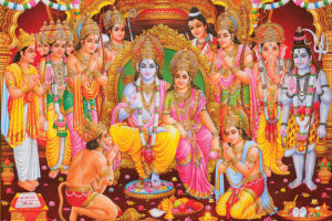 Why will Lord Rama wear green clothes in Ayodhya, on August 5, 2020?