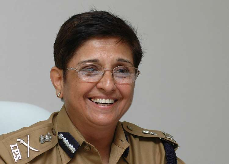 Can the chart of former top cop and present Lt. Governor of Puducherry Madam Kiran Bedi be analyzed?