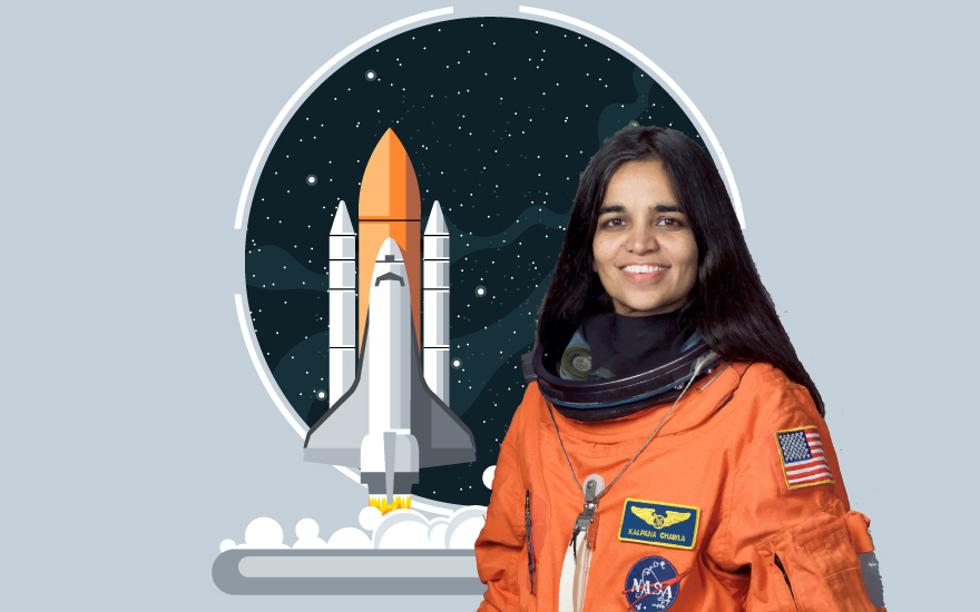 How did Indian – American astronaut Kalpana Chawla smash gender, nationality and racial hurdles to fulfill her dreams?