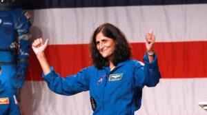 Can the chart of NASA astronaut Sunita Williams be analyzed?