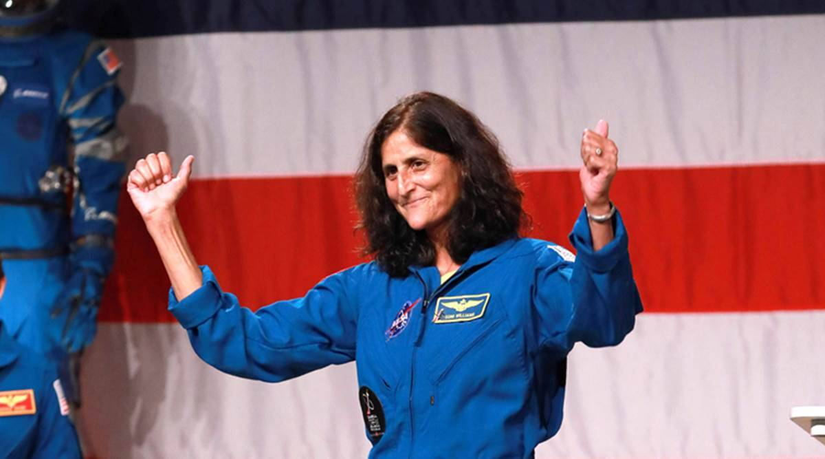 Can the chart of NASA astronaut Sunita Williams be analyzed?