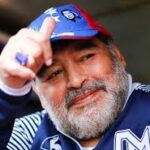 can the chart of soccer star Diego Maradona be analyzed ?