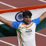 How does Neeraj Chopra's chart prove that the path to success is paved with hard work and luck?