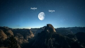How harmful is the combination of an ill-placed Moon and Saturn ? Can it be explained by way of a case study.